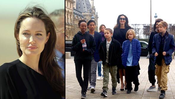 Angelina Jolie hakkında şaşırtan iddia: 7nci çocuk yolda