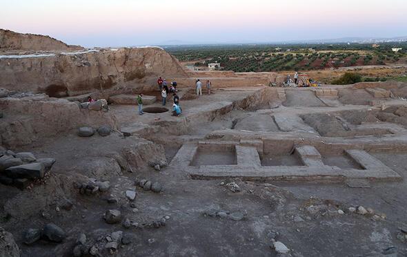 Kiliste 4 bin yıllık saray kalıntısı bulundu
