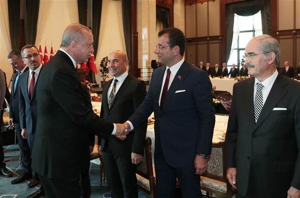 Külliyede Büyükşehir Belediye Başkanları Toplantısı