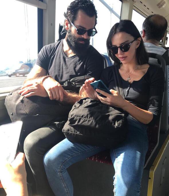 Ümraniyede halk otobüsünde görüntülendi