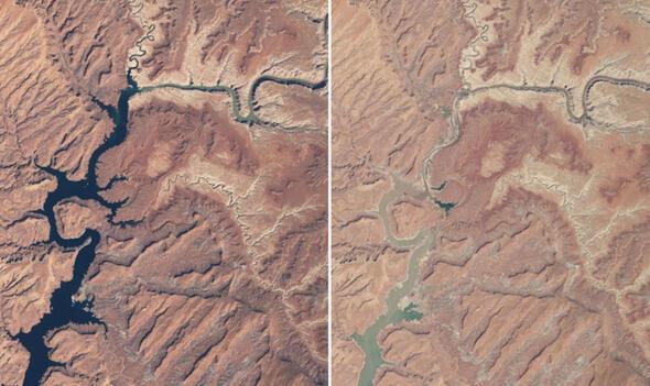 NASAnın yayınladığı korkutan fotoğraf: Bilim insanları endişeli...