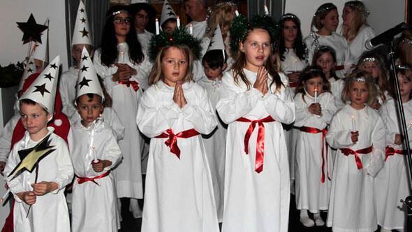 Santa Lucia Günü Ankara'da kutlandı