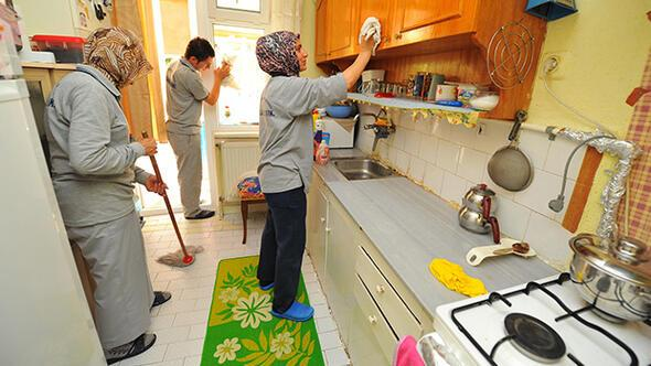 Evlerde bayram temizliği