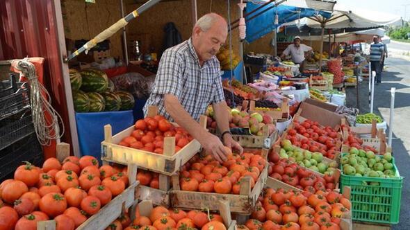 Ayaş lezzetleri yöresel pazarda