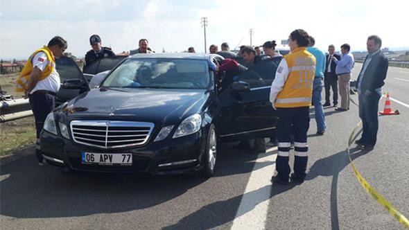 Ankarada park halindeki araçta şüpheli ölüm