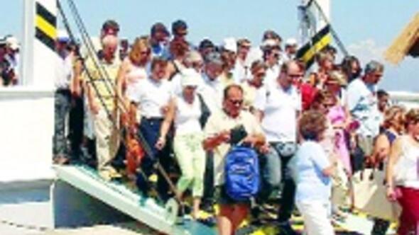 Yunanlı turistleri körfez paylaşamıyor
