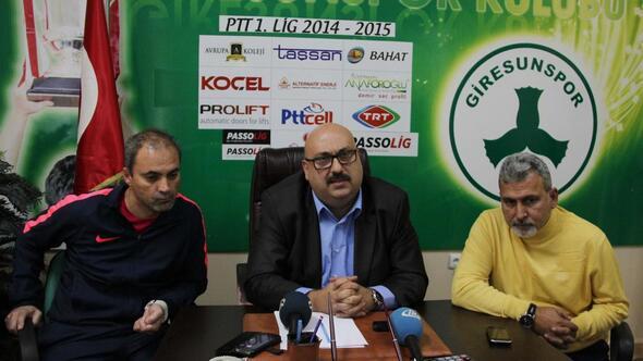 Giresunspor Başkanı Bozbağ: