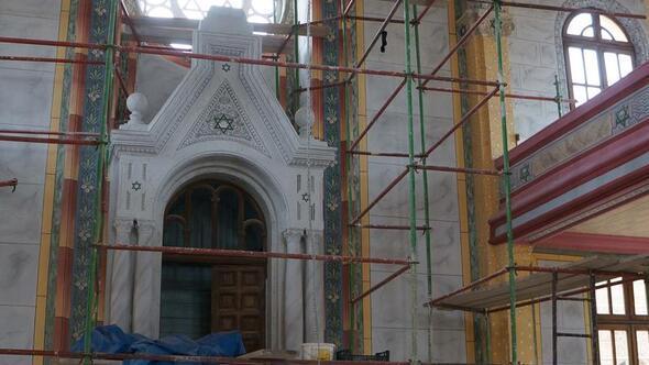 Edirnedeki Büyük Sinagogun restorasyonu