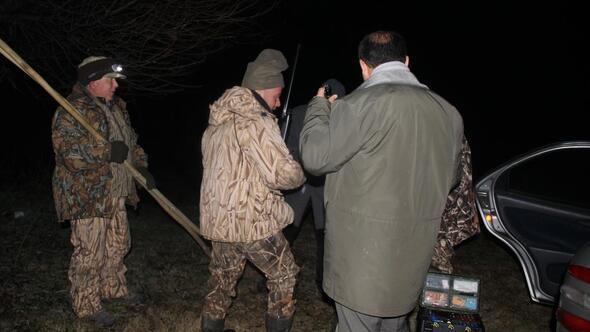 Eber Gölünde kaçak avcılıkla mücadele