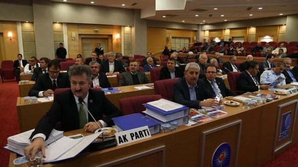 Antalya Büyükşehir Belediyesi Meclis Toplantısı
