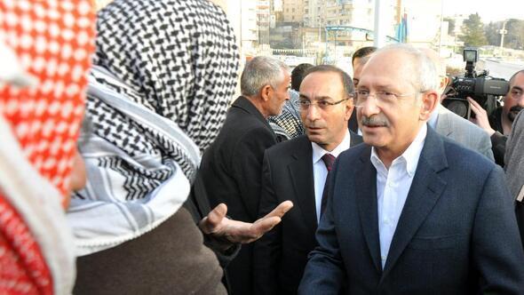 CHP Genel Başkanı Kılıçdaroğlu, Şanlıurfada