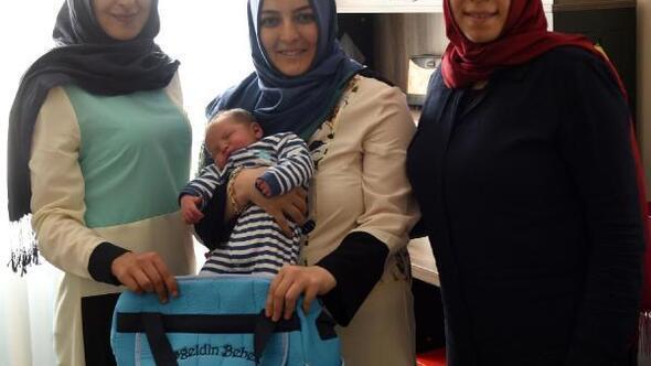 Erzurumda Hoş geldin bebek projesi