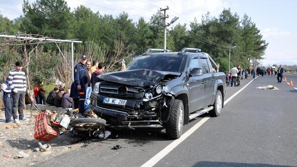 Muğlada trafik kazası: 1 ölü