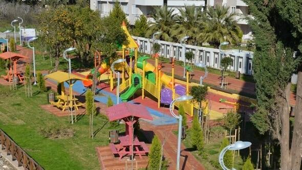 Uluç Mahallesi'nde Beşinci Park Hizmete Açıldı