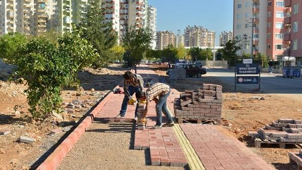 Konyaaltı'nda 40 Bin Metrekare Kaldırım Startı