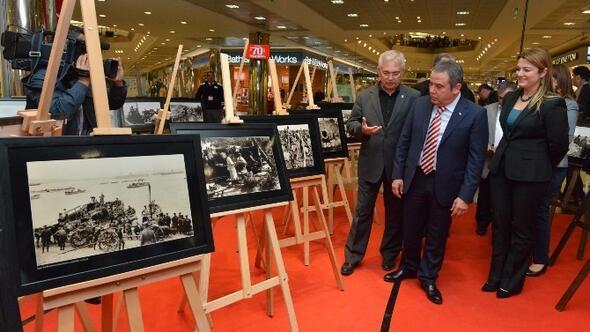 """Konyaaltı Belediyesi'nden """"Çanakkale 100.yıl"""" Sergisi"""
