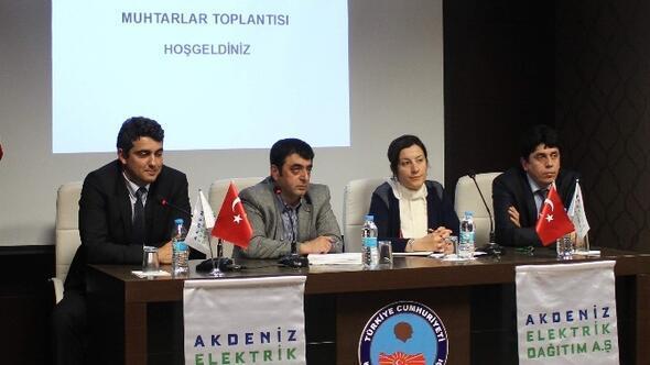 Akdeniz EDAŞ, Konyaaltı Muhtarlarını Dinledi