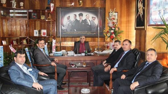 TTK Genel Müdür Yardımcıları Gebeş Ve Topuz'dan GMİS'e Hayırlı Olsun Ziyareti