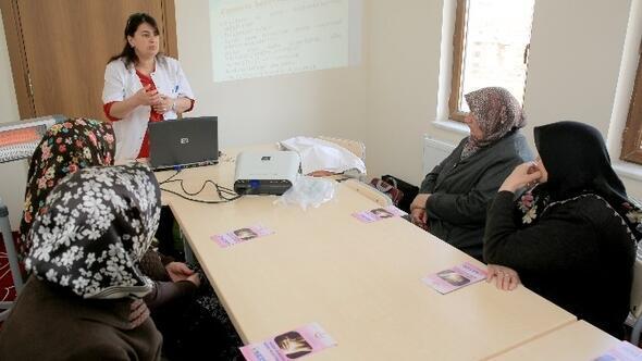 Oyacalı Kadınlara Kanser Eğitimi