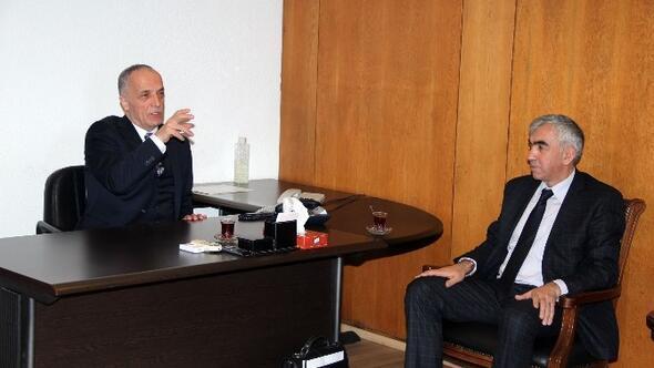 GMİS, Türk-iş'i Ziyaret Etti