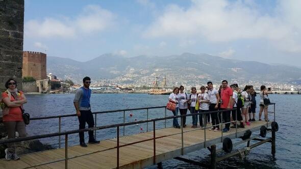 23 Nisan Etkinliklerine Katılacak Kardeş Şehir Çocukları, Alanya'ya Gelmeye Başladı