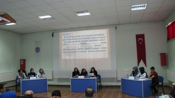 Hisarcık'ta Liseler Arası 'Siyer-i Nebi' Yarışması Düzenlendi