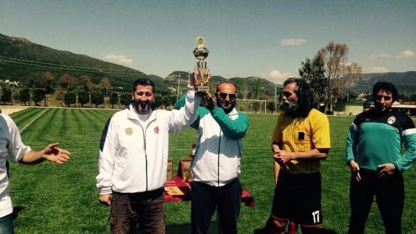 2. Teos Masterlar Turnuvasının Şampiyonu Foça Oldu