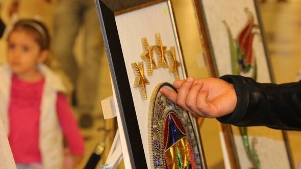 Filografi'nin Üstadı Baştan, Zonguldak'ta Sergi Açtı
