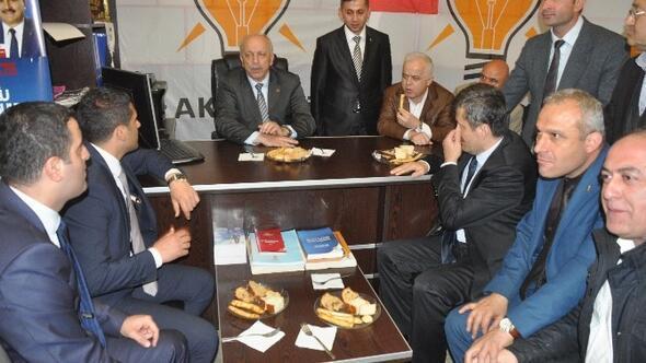 AK Parti Çatalağzı Beldesinde Seçim Bürosu Açtı