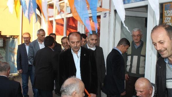 AK Parti İnağzı Mahallesinde Seçim Bürosu Açılışı