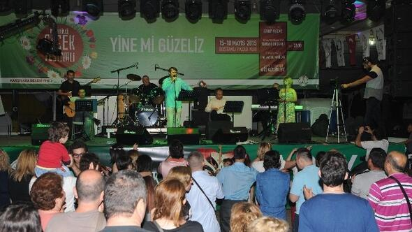 Karşıyaka Çiçek Festivali'ne 50 Bin Ziyaretçi