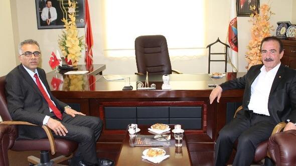 Erdoğan Öz'den Adıyaman Ticaret Borsası Başkanı Fırat'a Ziyaret