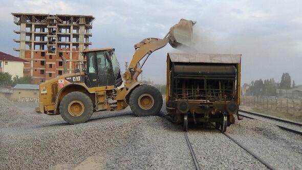 Karaman-konya Arası Çift Hat Hızlı Tren Çalışmalarında Sona Gelindi