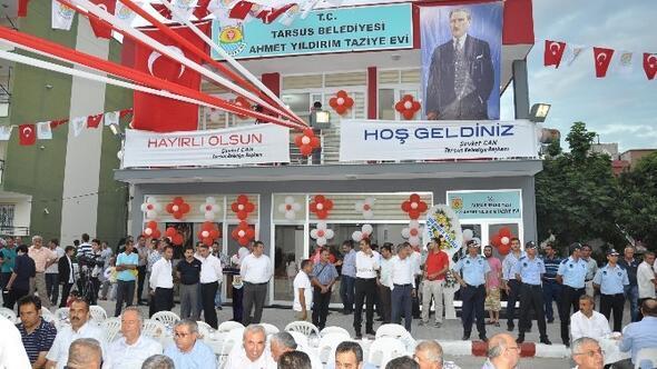 Tarsus'ta Taziye Evi Hizmete Açıldı
