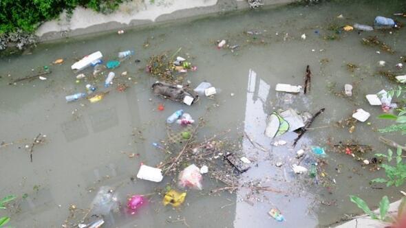 Tarihi Şamran Kanalı Çöplüğe Döndü