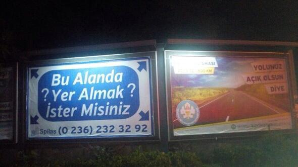 Manisa'da Billboard Krizi