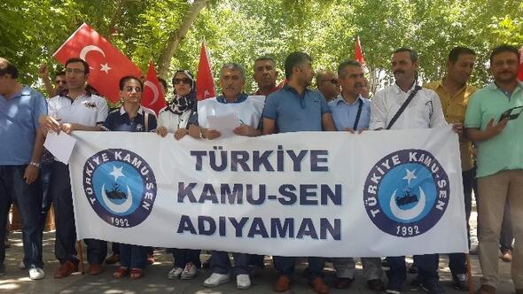 Kamu-sen, Doğu Türkistan İçin Basın Açıklaması Yaptı