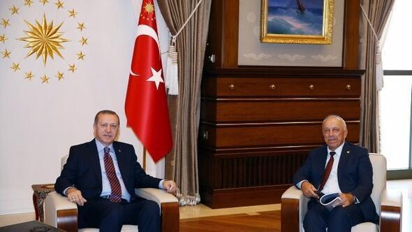 Hüseyin Özbakır, Cumhurbaşkanı Erdoğan'a Zonguldak'ın Sıkıntılarını Anlattı