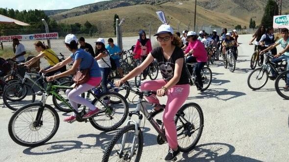 Eymir Gölünde Bisiklet Keyfi