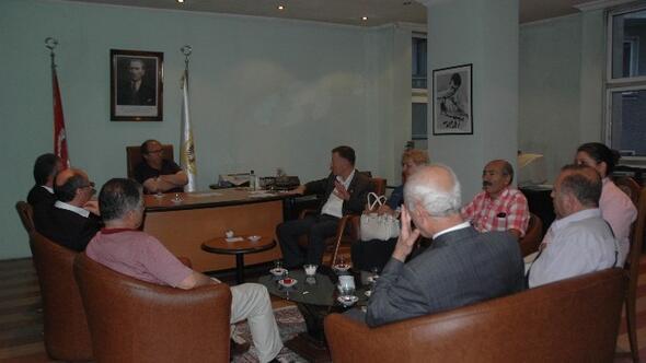 CHP Milletvekilleri'nden Dagc'ye Ziyaret