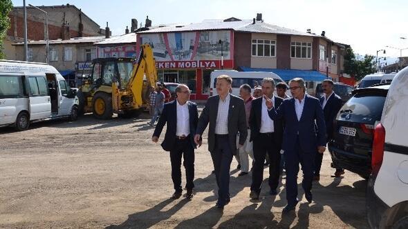 CHP Heyetinden Çat Belediyesi'ne Ziyaret