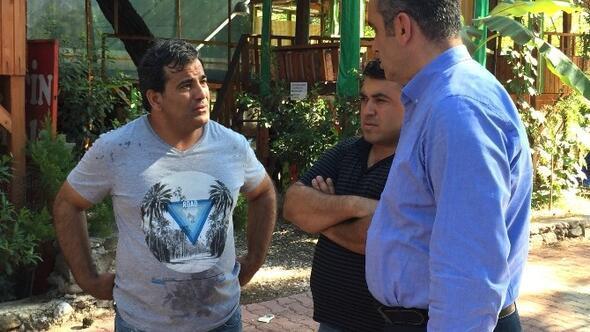 CHP İl Başkanı Esen, Sosyete Pazarı Esnafını Ziyaret Etti