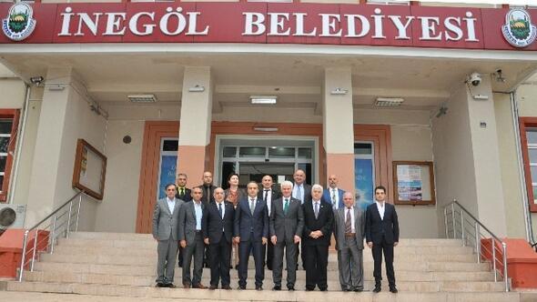 İnegöl Belediyesi Abhaz Ve Gürcü Heyetini Ağırladı