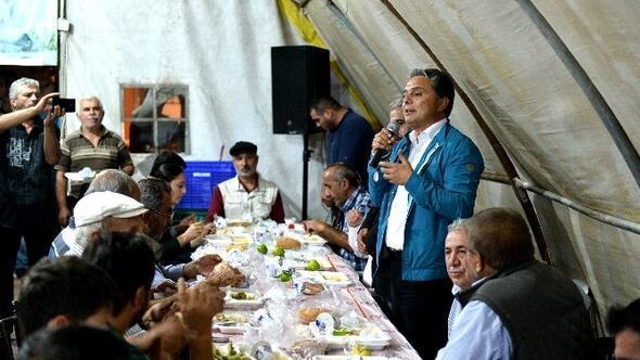 Başkan Uysal, Muharrem Ayı Oruç Açma Yemeğine Katıldı