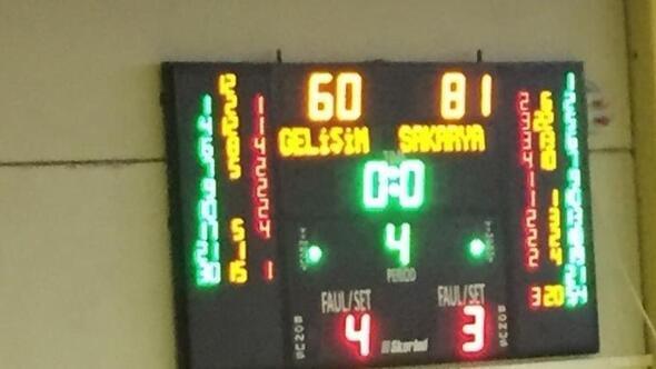 Büyükşehir Basket İzmir'de Galip Geldi