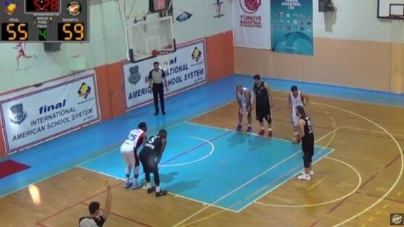 Büyükşehir Basket Takımı Bursa'dan Galip Ayrldı