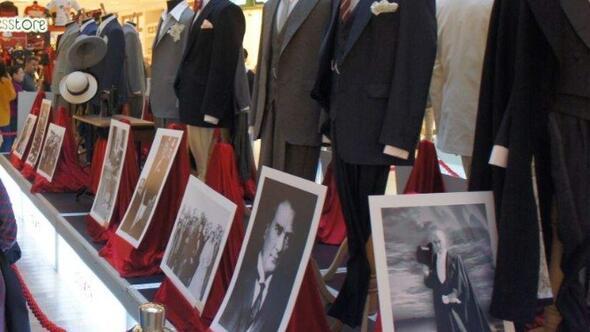 Atatürk Kıyafetleri Sergisi Espark'taydı