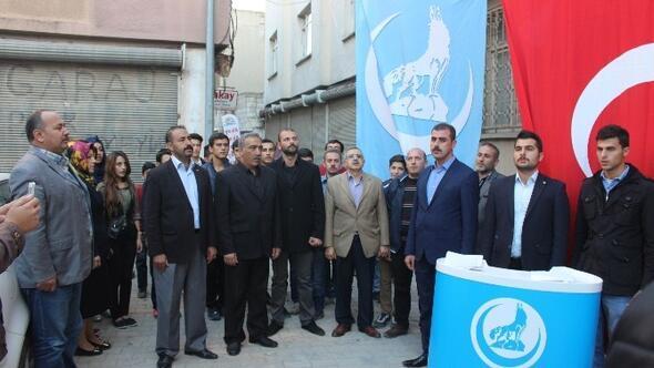 Ülkü Ocaklarından Güney Azerbaycan Türklerine Yapılan Zulme Tepki