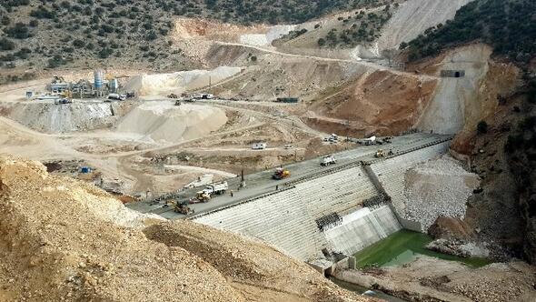 Ardıl Barajı İnşaatı Tüm Hızıyla Devam Ediyor