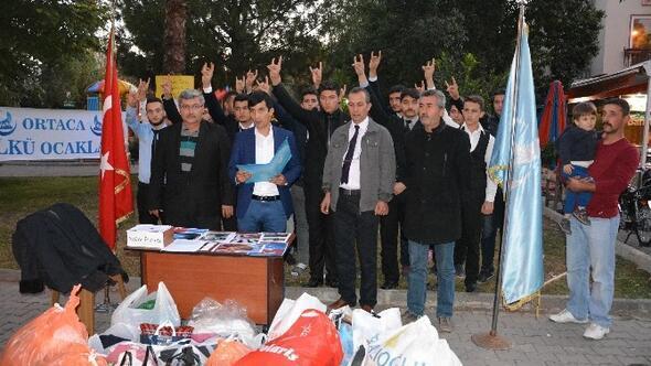 Ortaca Ülkü Ocaklarından Türkmenler İçin Yardım Kampanyası